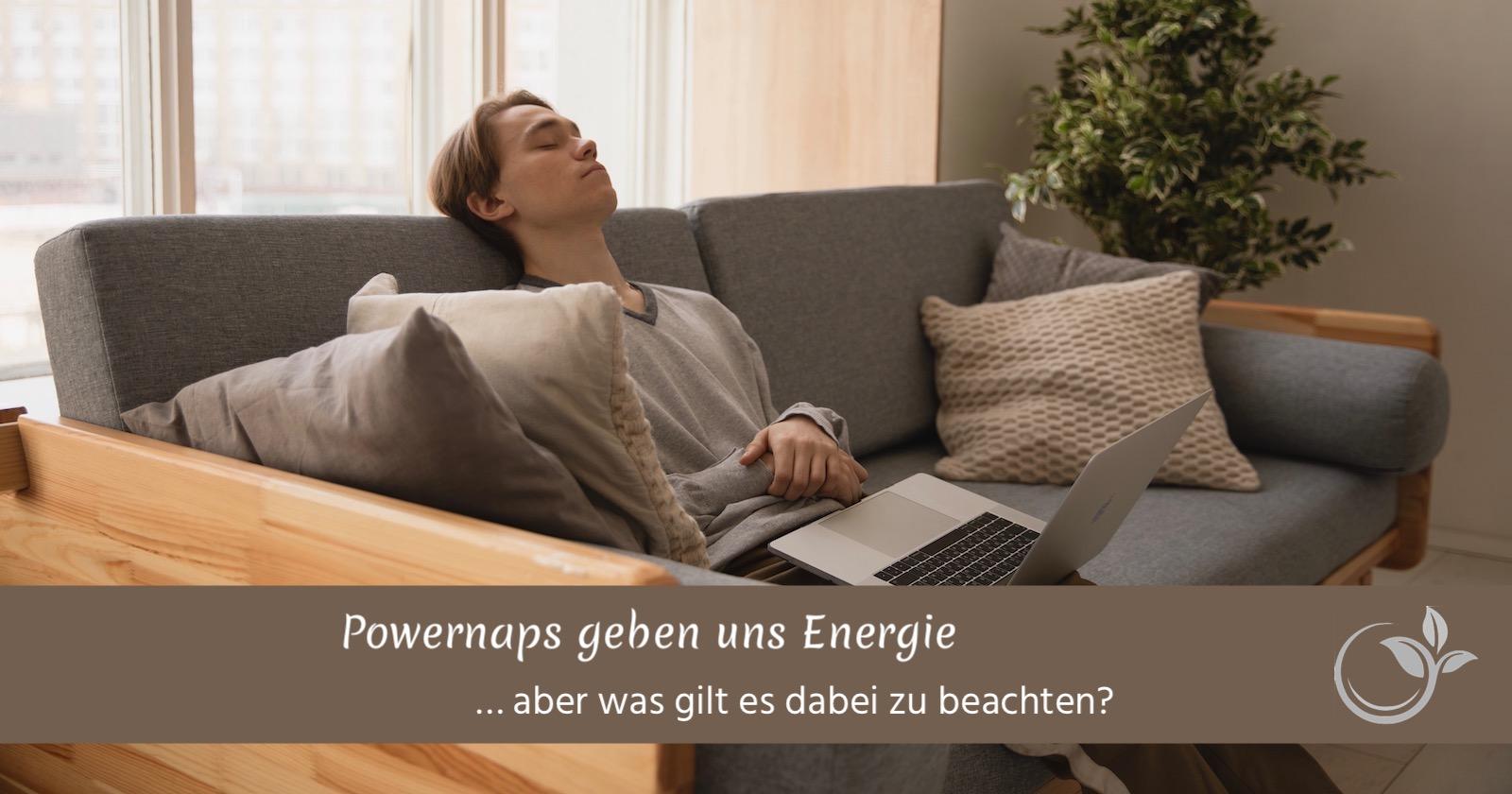 Powernaps geben uns Energie – aber was gilt es dabei zu beachten?