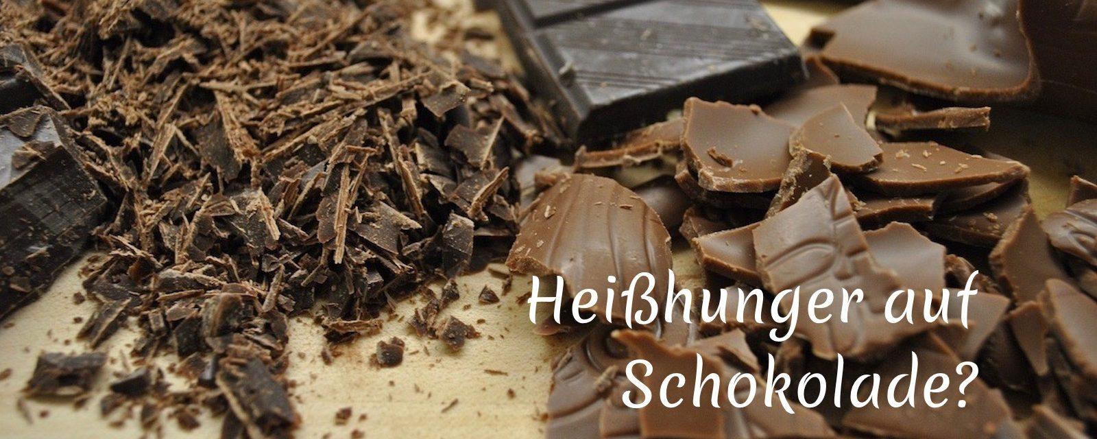 Heißhunger auf Schokolade?